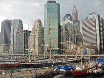 Pier 17 New York Stockfotos