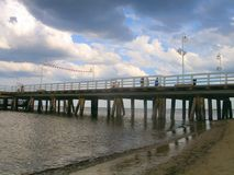 Pier. Sopot, Poland Royalty Free Stock Photos
