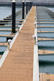 Pier. In the harbor for berthing of boats royalty free stock images