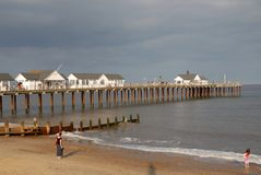 The Pier Royalty Free Stock Image
