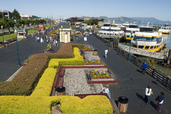 Pier 39 from above Stock Image