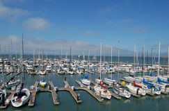 Pier 39 Marina - San Francisco Stock Photo