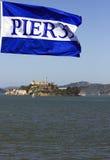 Pier 39 in San Francisco Stockbilder