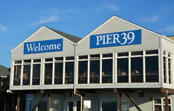 Pier 39 at San Francisco Bay Stock Images