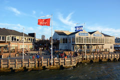 Pier 39 at San Francisco Bay Royalty Free Stock Photo