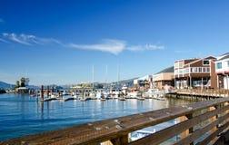 Pier 39, San Fransciso der Kai des Fischers Stockfotos