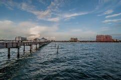 Pier 60 lizenzfreie stockbilder