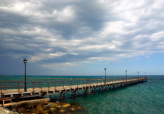 The Pier Royalty Free Stock Photography