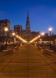 Pier 7 in San Francisco Stock Photos