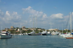 Pier of Antibes, France Royalty Free Stock Images