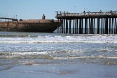 Pier in aptos california Stock Photography
