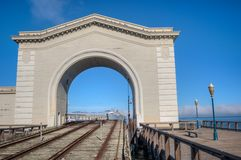 Pier 39 archway Stock Photography
