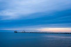 Pier. Area(Molo) taken in Sopot, Poland Royalty Free Stock Photos