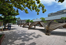 The Pier-2 Art Center in Kaohsiung Royalty Free Stock Photography