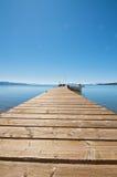 Pier At Lake Tahoe Stock Images