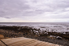 Pier. By the atlantic ocean - Tenerife - Canary Island Royalty Free Stock Photography