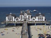 Pier auf der Ostsee Lizenzfreies Stockbild