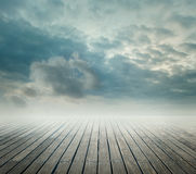 Pier background Royalty Free Stock Photo