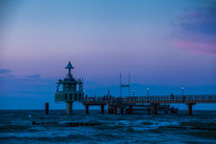 Pier at the Baltic Sea Royalty Free Stock Image
