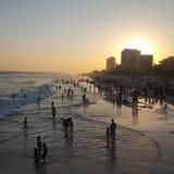 Pier Barra da Tijuca Rio de Janeiro RJ royaltyfri foto