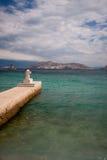 Pier in Baska Stock Photos