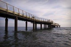 Pier bei Camaiore Lizenzfreies Stockfoto