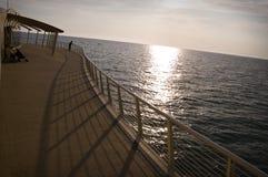 Pier bei Camaiore Stockfotos