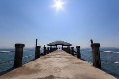Pier bei Chang Island Lizenzfreie Stockfotos