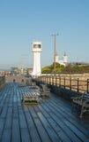 Pier bei Littlehampton, Sussex, England Lizenzfreie Stockbilder