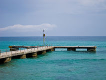 Pier bei Mallorca/bei Majorca Lizenzfreies Stockbild