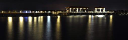 Pier über Wasser Lizenzfreie Stockfotografie