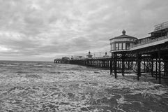 The pier in Blackpool UK Stock Image