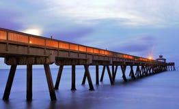 Pier Blue Fotografia Stock