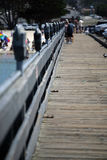 Pier boardwalk Stock Image