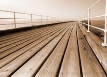 Pier boardwalk Royalty Free Stock Image