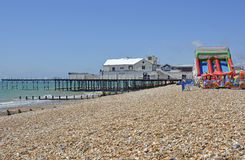 Pier at Bognor Regis, West Sussex, England Royalty Free Stock Photography