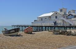 Pier at Bognor Regis, West Sussex, England Stock Images