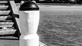 Pier bollard Royalty Free Stock Images