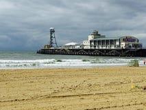 Pier in Bournemouth Stockbild