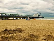 Pier of Bournemouth royalty free stock image