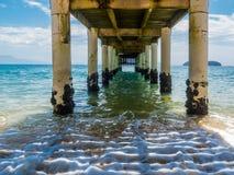 Pier in Brazil Stock Photography
