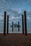 Pier Brighton del oeste Reino Unido Foto de archivo