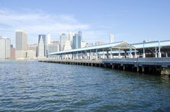 Pier 2 Brooklyn Bridge Park Stock Image