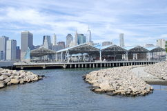 Pier 2 Brooklyn Bridge Park Stock Photo