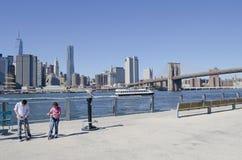 Pier 1 Brooklyn Bridge Park Stock Photo