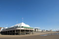 Burnham on Sea pier Stock Photos