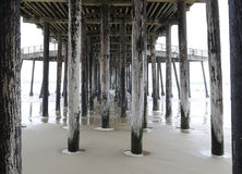 Pier in California Royalty Free Stock Images