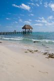 Pier at the Caribbean Royalty Free Stock Photography