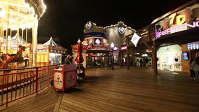 Pier 39 Carousel stock video footage