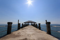 Pier at Chang Island Royalty Free Stock Photos